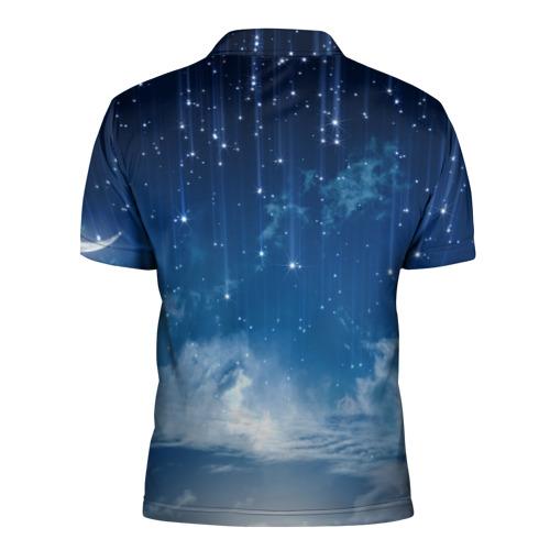 Мужская рубашка поло 3D  Фото 02, Звездное небо
