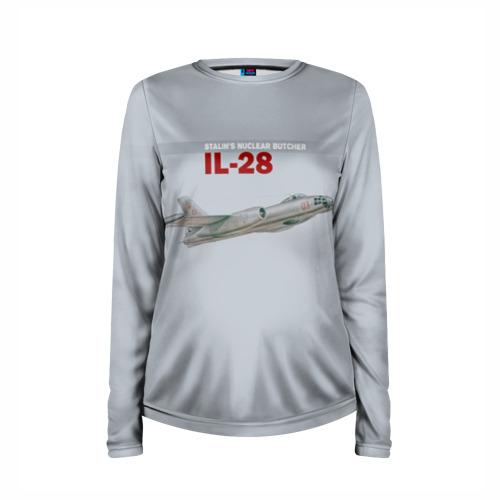 Женский лонгслив 3D для беременных  Фото 03, Ил-28 Атомный Мясник Сталина