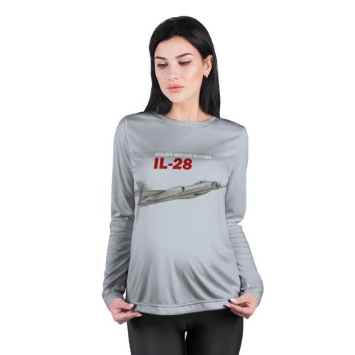 Женский лонгслив 3D для беременных  Фото 04, Ил-28 Атомный Мясник Сталина