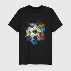 Рисованный футбольный мяч