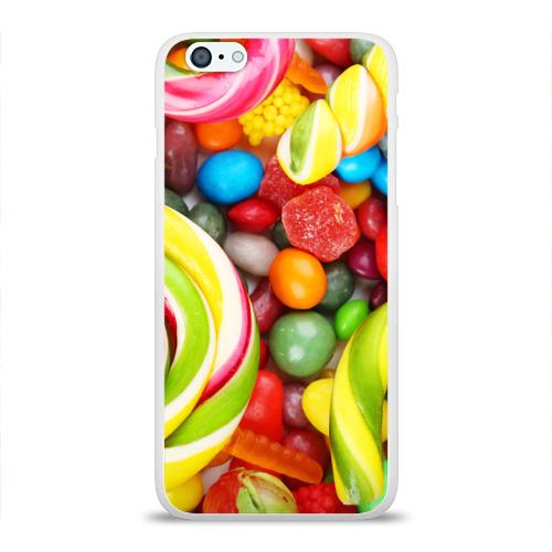 Чехол для Apple iPhone 6Plus/6SPlus силиконовый глянцевый Вкусняшки Фото 01