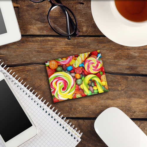 Обложка для студенческого билета Вкусняшки Фото 01