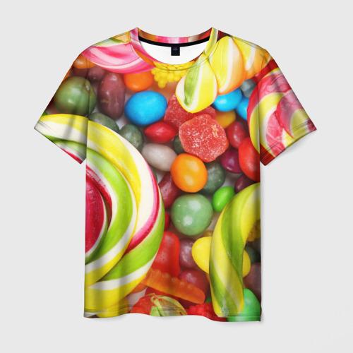 Мужская футболка 3D Вкусняшки