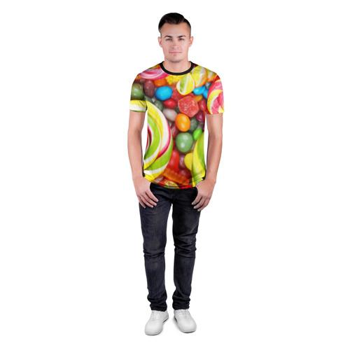 Мужская футболка 3D спортивная Вкусняшки Фото 01