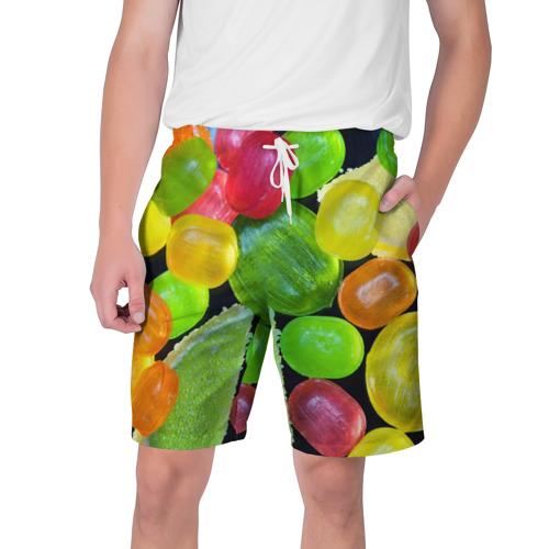 Мужские шорты 3D  Фото 01, Карамельки