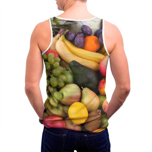 Мужская майка 3D  Фото 04, Спелые фрукты