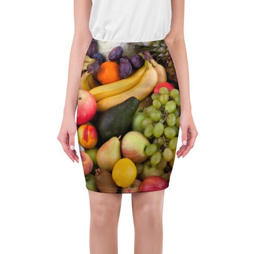 Юбка 3D  Фото 01, Спелые фрукты
