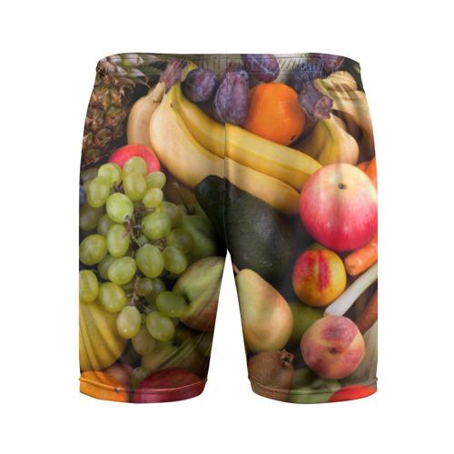 Мужские шорты 3D спортивные  Фото 02, Спелые фрукты