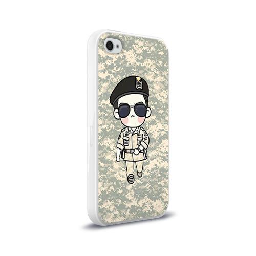 Чехол для Apple iPhone 4/4S силиконовый глянцевый SONG JOONG KI Фото 01