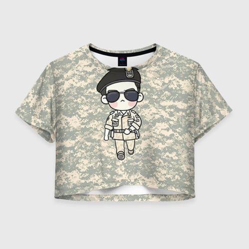 Женская футболка Cropp-top SONG JOONG KI Фото 01