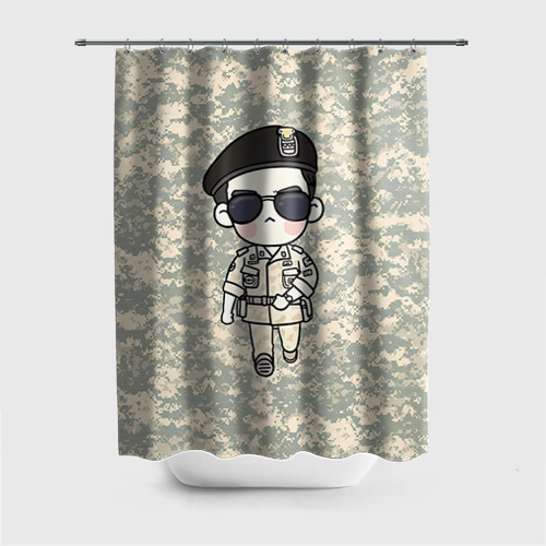 Штора 3D для ванной SONG JOONG KI Фото 01