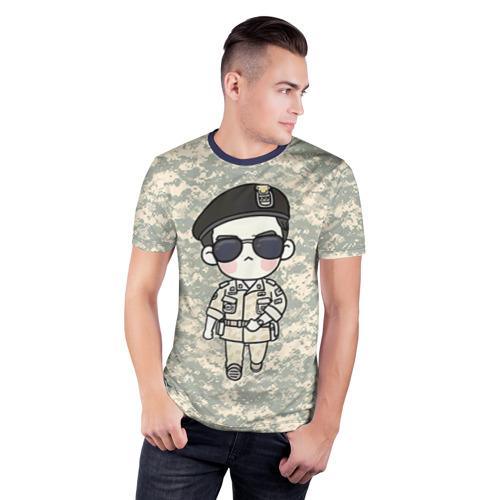 Мужская футболка 3D спортивная SONG JOONG KI Фото 01