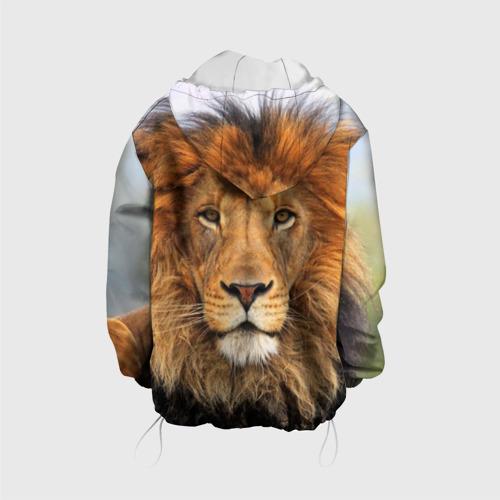 Детская куртка 3D  Фото 02, Красавец лев