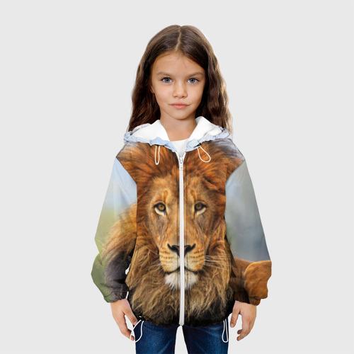 Детская куртка 3D  Фото 04, Красавец лев