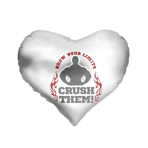 Подушка 3D сердце  Фото 01, Super strongman