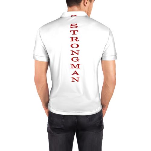 Мужская рубашка поло 3D  Фото 04, Super strongman