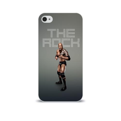 Чехол для Apple iPhone 4/4S soft-touch  Фото 01, The Rock WWE