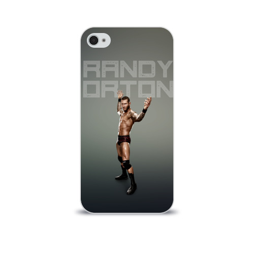 Чехол для Apple iPhone 4/4S soft-touch  Фото 01, Randy Orton WWE
