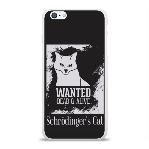 Чехол для Apple iPhone 6Plus/6SPlus силиконовый глянцевый  Фото 01, Wanted Cat