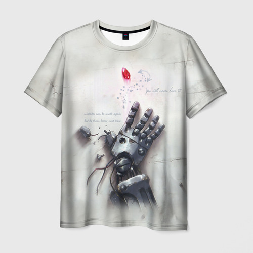 Мужская футболка 3D Fullmetal Alchemist