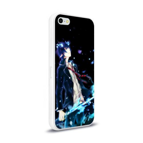 Чехол для iPhone 5/5S глянцевый Blue Exorcist Фото 01