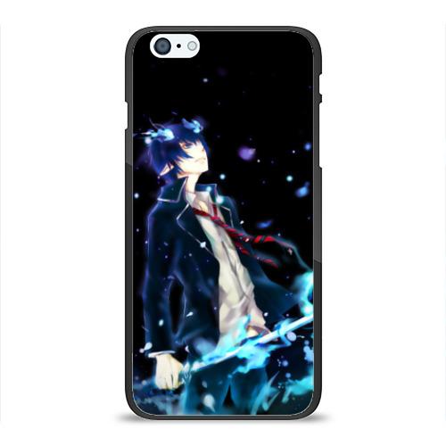 Чехол для iPhone 6/6S Plus глянцевый Blue Exorcist Фото 01