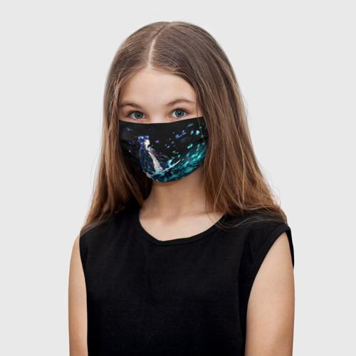Детская маска (+5 фильтров) Blue Exorcist Фото 01
