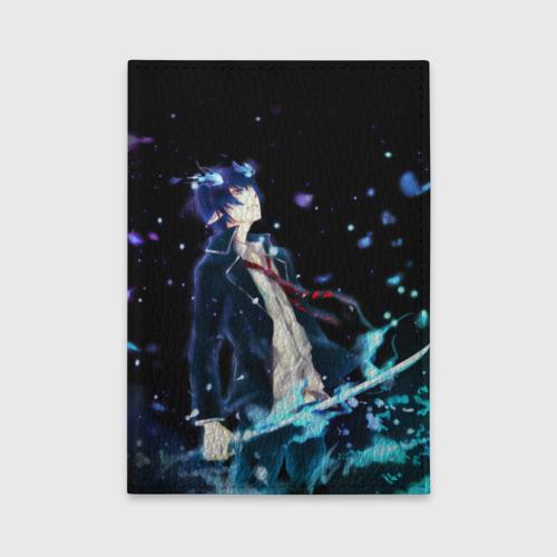Обложка для автодокументов Blue Exorcist Фото 01