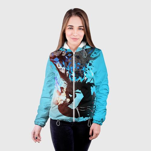 Женская куртка 3D  Фото 03, Blue Exorcist