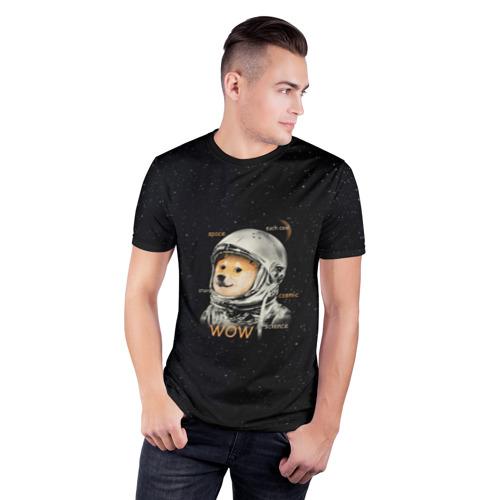 Мужская футболка 3D спортивная Doge Фото 01