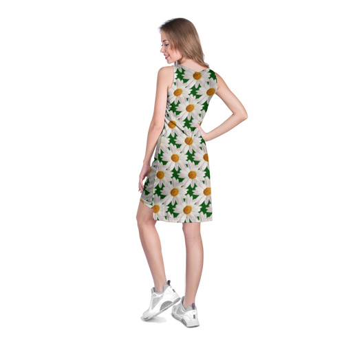 Платье-майка 3D  Фото 04, Ромашки