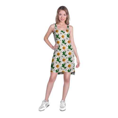 Платье-майка 3D  Фото 03, Ромашки
