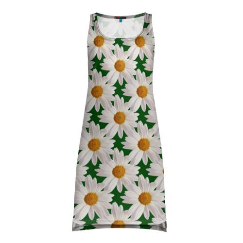 Платье-майка 3D  Фото 01, Ромашки