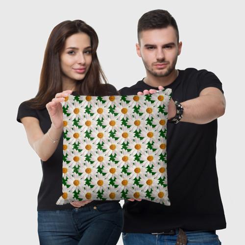 Подушка 3D Ромашки Фото 01