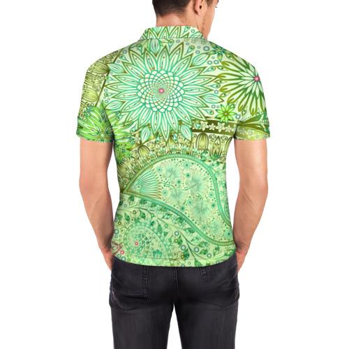 Мужская рубашка поло 3D  Фото 04, Коллекция Balmain