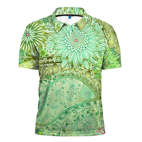 Мужская рубашка поло 3D  Фото 01, Коллекция Balmain