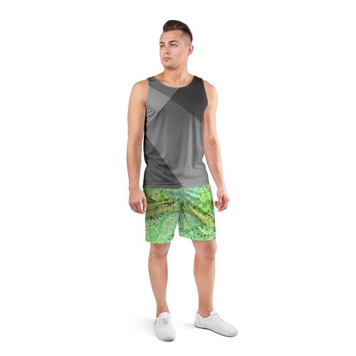 Мужские шорты 3D спортивные  Фото 04, Коллекция Balmain