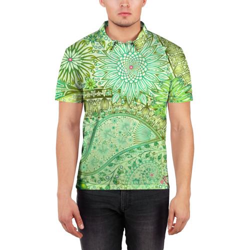 Мужская рубашка поло 3D  Фото 03, Коллекция Balmain