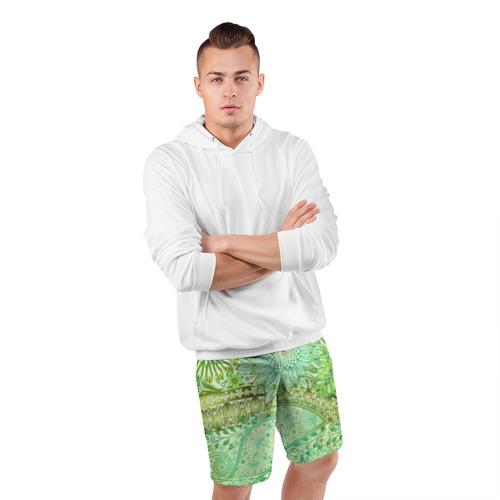 Мужские шорты 3D спортивные  Фото 05, Коллекция Balmain