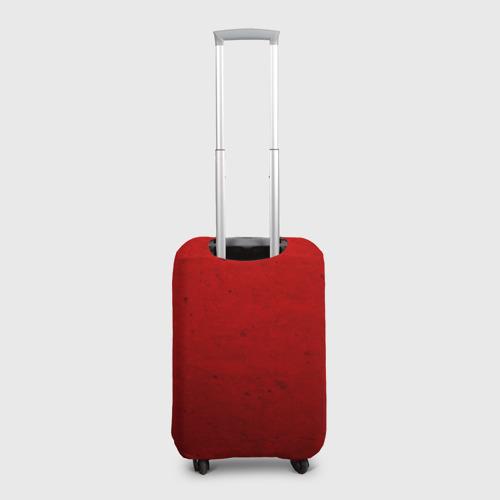 Чехол для чемодана 3D Флаг СССР: Серп и Молот Фото 01