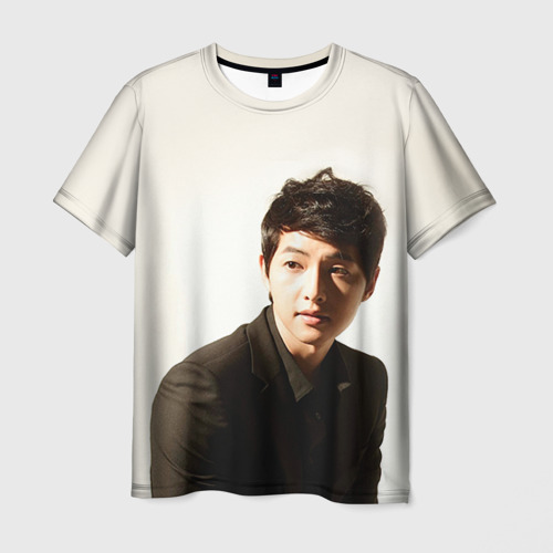 Мужская футболка 3D Сон Чжун Ки Фото 01