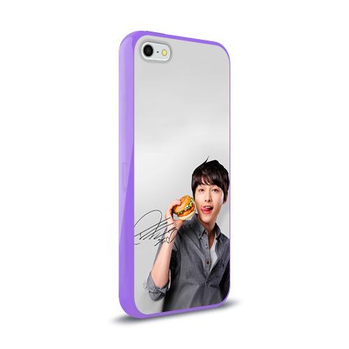 Чехол для Apple iPhone 5/5S силиконовый глянцевый Дорамы Фото 01