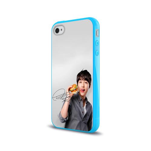Чехол для Apple iPhone 4/4S силиконовый глянцевый Дорамы Фото 01