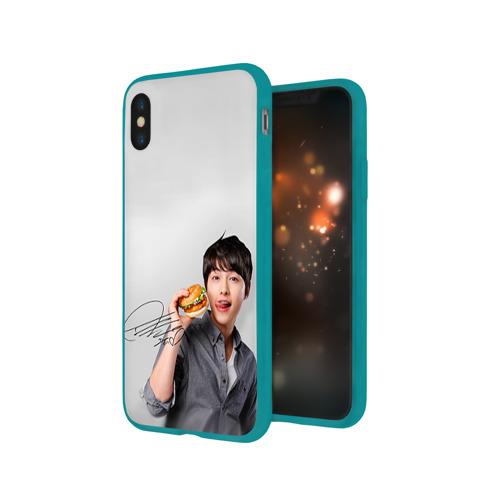 Чехол для Apple iPhone X силиконовый глянцевый Дорамы Фото 01