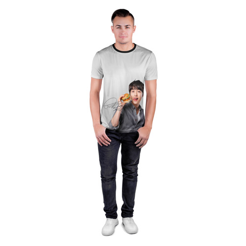 Мужская футболка 3D спортивная Дорамы Фото 01