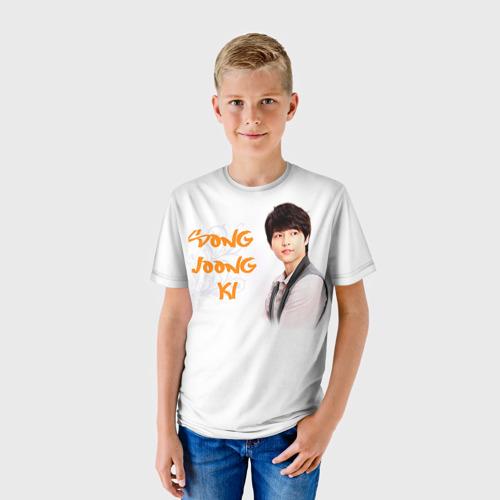 Детская футболка 3D  Фото 01, Сон Чжун Ки
