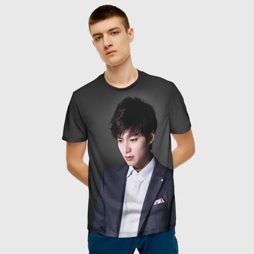 Мужская футболка 3D Lee Min Ho Фото 01