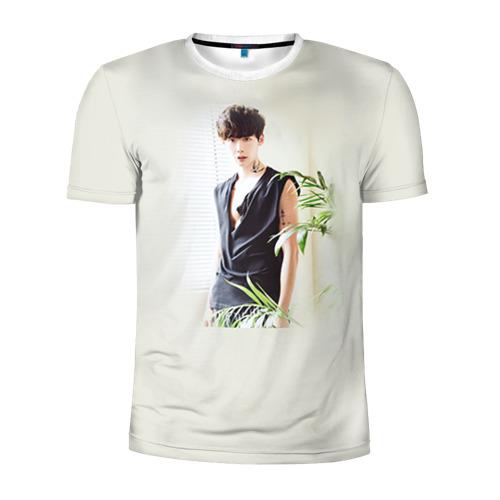 Мужская футболка 3D спортивная  Фото 01, Дорамы