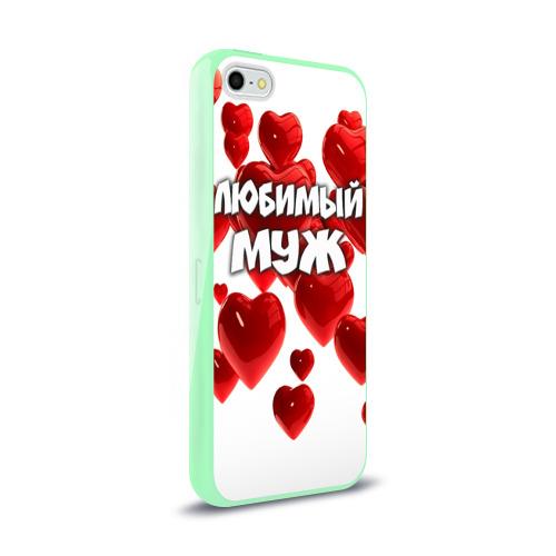 Чехол для Apple iPhone 5/5S силиконовый глянцевый  Фото 02, Любимый муж