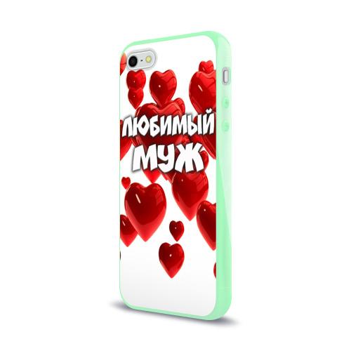 Чехол для Apple iPhone 5/5S силиконовый глянцевый  Фото 03, Любимый муж